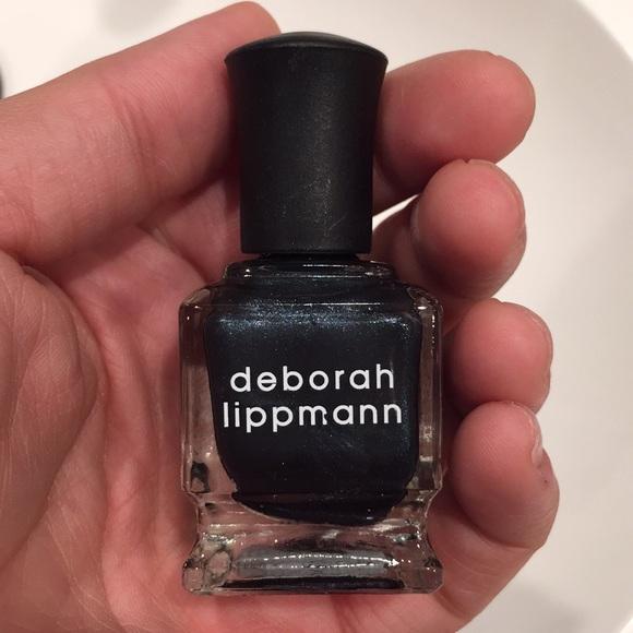 deborah lippmann Makeup | Shiny Navy Nail Polish | Poshmark